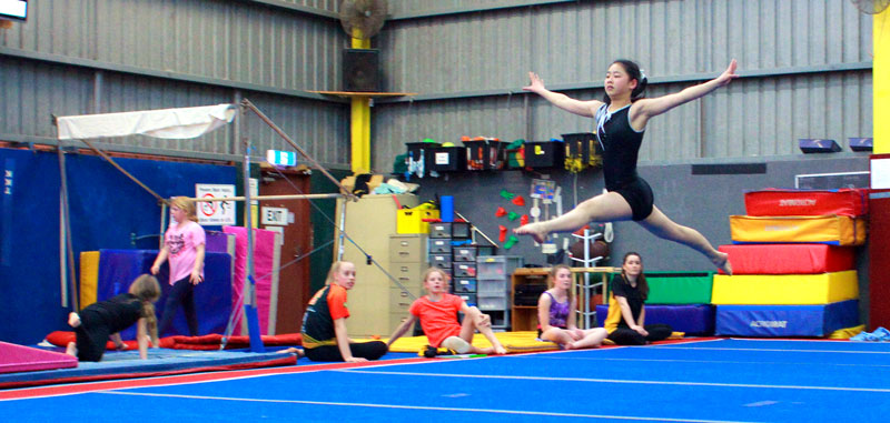 GymStar gymnasts reach their full potential in a fun and fair environment