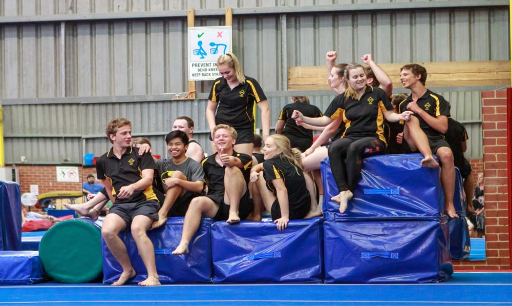 Nunawading Gymnastics & Sports Club Team