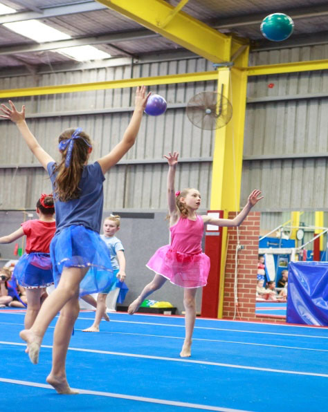 Rhythmic Gymnastics with young children